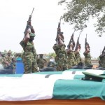 Nigerian Army Buries Captain, 11 Soldiers Killed By Bandits In Benue
