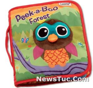Peek-a-Boo Forest Inspiring Rhymes and Stories Baby Toys Book