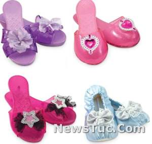 Step In Style Melissa Doug Role Play Collection Dress-Up Shoes