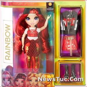 Complete Mix & Match Outfits Red Clothes Fashion Baby Toy Doll