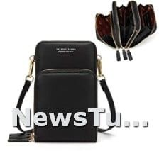 Crossbody Lightweight Cell Phone Mastercards openings Wallet Purses Bag for Women