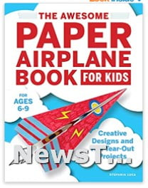 Innovative Designs Ultimate Paper Airplanes Paperback Toy
