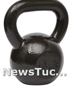 Finished wide handle Cast Iron Kettlebell Weight Hand Weight Set