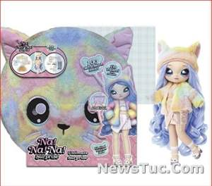 Shock Teens Design Ultimate Surprise Rainbow Kitty Baby Toy Doll