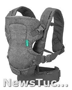 Convertible, Face-in, and face-out Infantino Flip Advanced 4-in-1 Infant Baby Carrier
