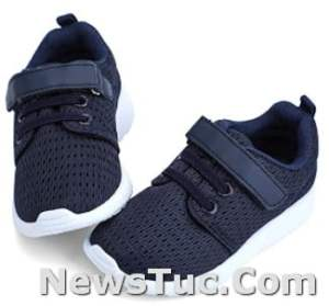 Lightweight Breathable HIITAVE Toddler Boys Girls Athletic Tennis Shoes Sneakers