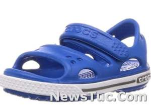 Synthetic Crocs Unisex-Child Kids' EVA sole Crocband SANDALS FOR GIRLS AND BOYS