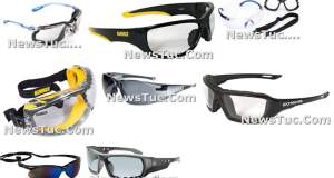 Top Anti-Fog Anti-scratch multi-color Frame Clear Lens Pair Safety Glasses
