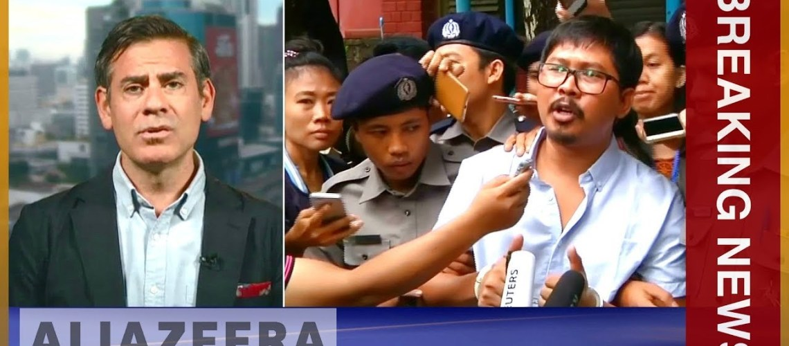Myanmar court rejects final appeal by jailed Reuters journalists