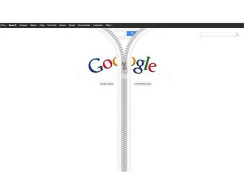 The Google Zipper Home Page