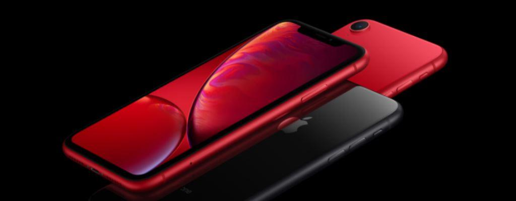 Red color Apple iPhone XR