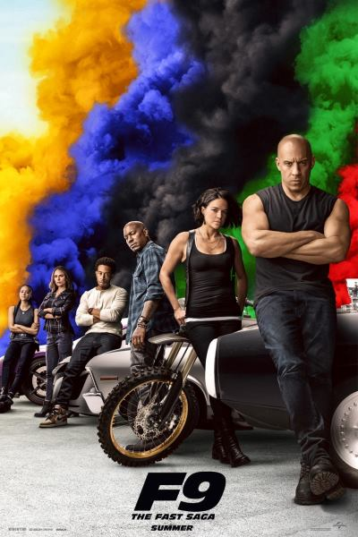 Fast and Furious 9 Movie Poster