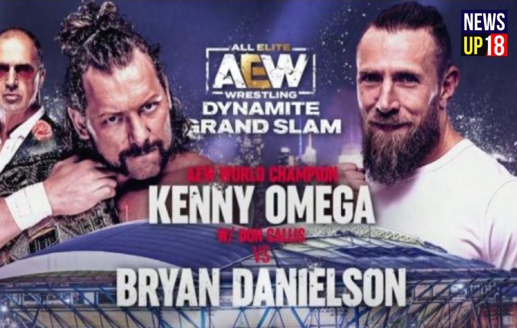 AEW Dynamite Bryan Danielson thanks WWE ahead of 'biggest match' against Kenny Omega