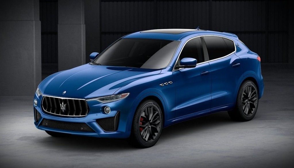 2020 Maserati Levante Spy Photos