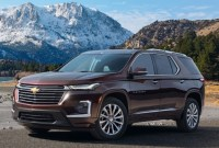 2022 Chevy Traverse Drivetrain