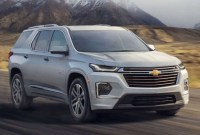 2022 Chevy Traverse Spy Photos