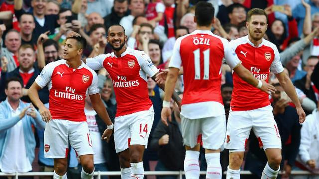 EPL REVIEW: Arsenal stun United, goes second
