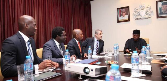 Microsoft Nigerian team visits Osinbajo (PHOTO)