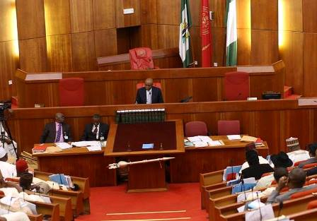 Senate reads Buhari's letter, commences debate on N27,000 Minimum Wage Bill