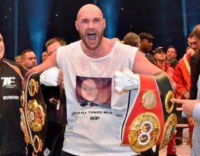 BOXING: Tyson Fury ends Wladimir Klitschko's reign