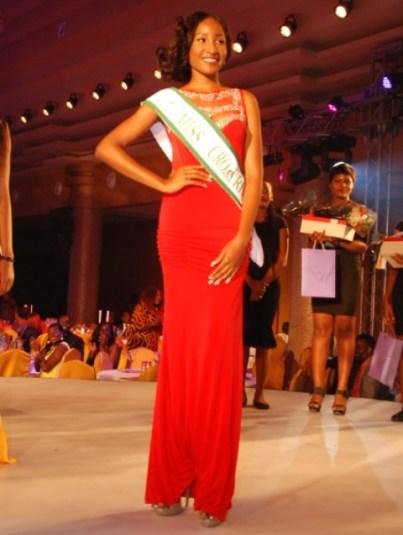 Winner of Miss Nigeria 2015, Miss Pamela Peter-Vigboro Leesi