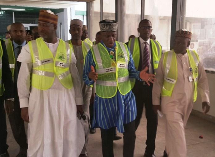 Amaechi inspects Lagos Airport (PHOTO)