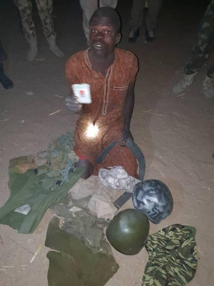 Nigerian Army capture wanted Boko Haram jihadist