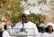 Senegal president wins re-election with 58% vote