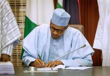 Buhari declines assent to 17 bills
