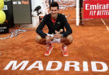 Djokovic wins third Madrid Open as Tsitsipas runs out of steam