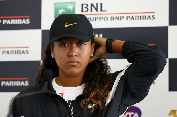 Osaka says she's adjusting to clay in time for French Open