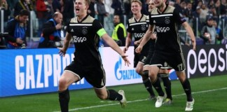 Van de Beek gives Ajax edge over Tottenham in Champions League semi-final