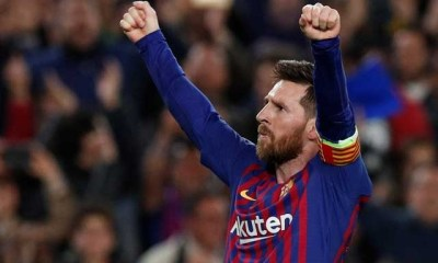 Messi torments Liverpool with 600th Barca goal in 3-0 Champions League win