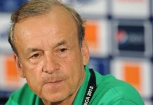 Rohr, 25 Super Eagles players honour Keshi at 2nd memorial lecture