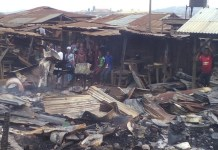 Fire guts part of Makurdi Modern Market