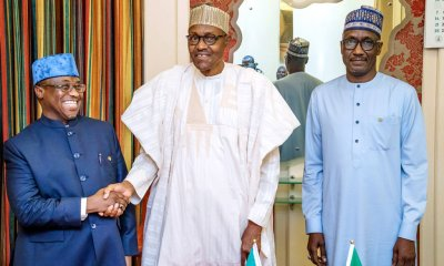 NNPC: Buhari bids farewell to Baru, meets new GMD, Kyari