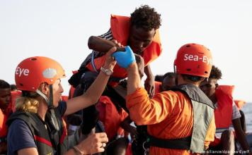 German boat, Sea-Eye rescues 44 additional migrants from Mediterranean