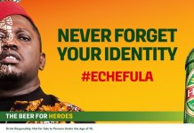 """Hero lager presents """"Echefula"""", Never Forget Your Identity"""