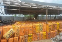 Navy recovers 3,181 jerry cans of stolen petrol worth N11m
