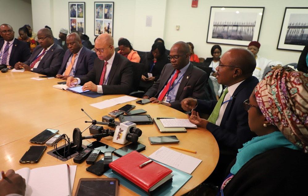 REMARKS OF NIGERIAN MINISTER OF FINANCE ZAINAB AHMED WITH JOURNALISTS IN WASHINGTON D.C.