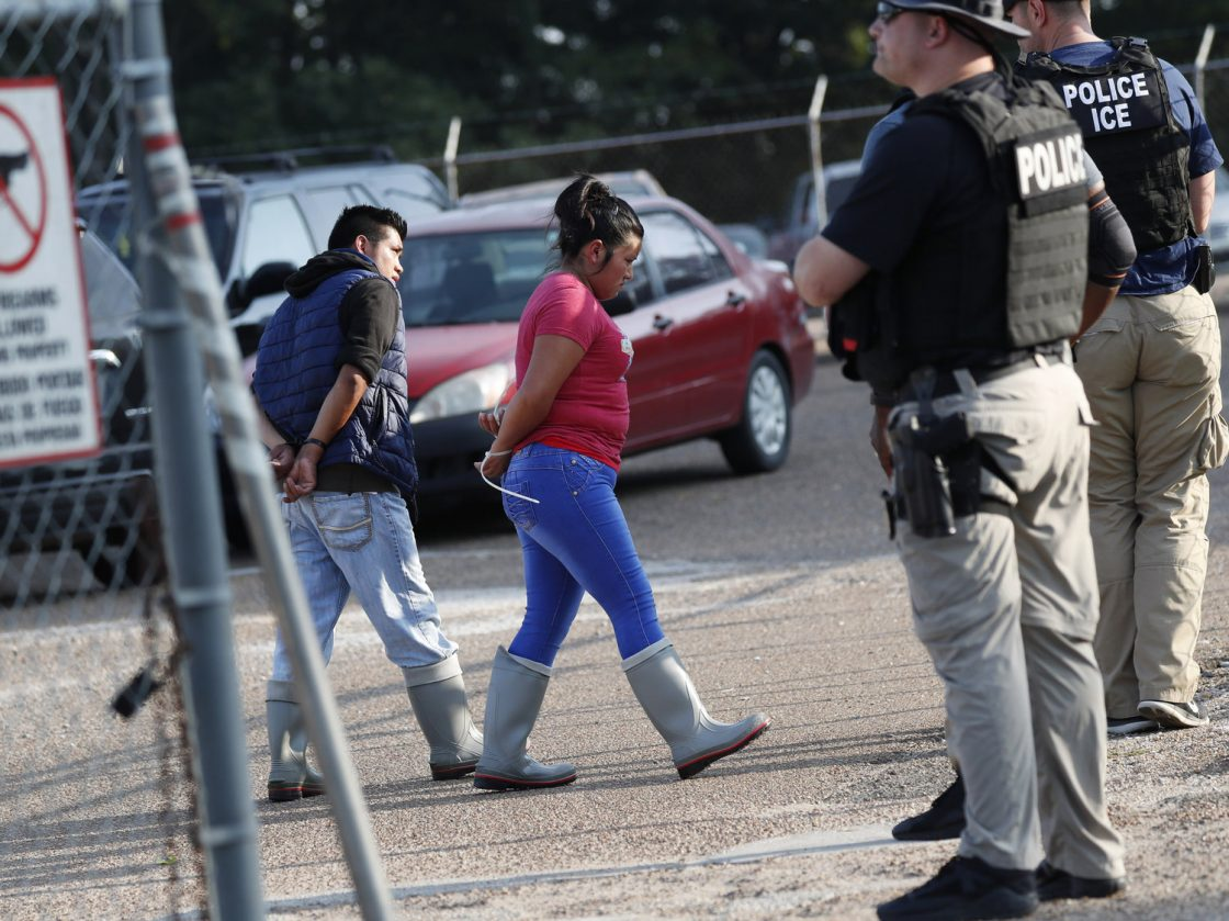 ICE raids several food processing plants in Mississippi; Arrests 600+ Workers
