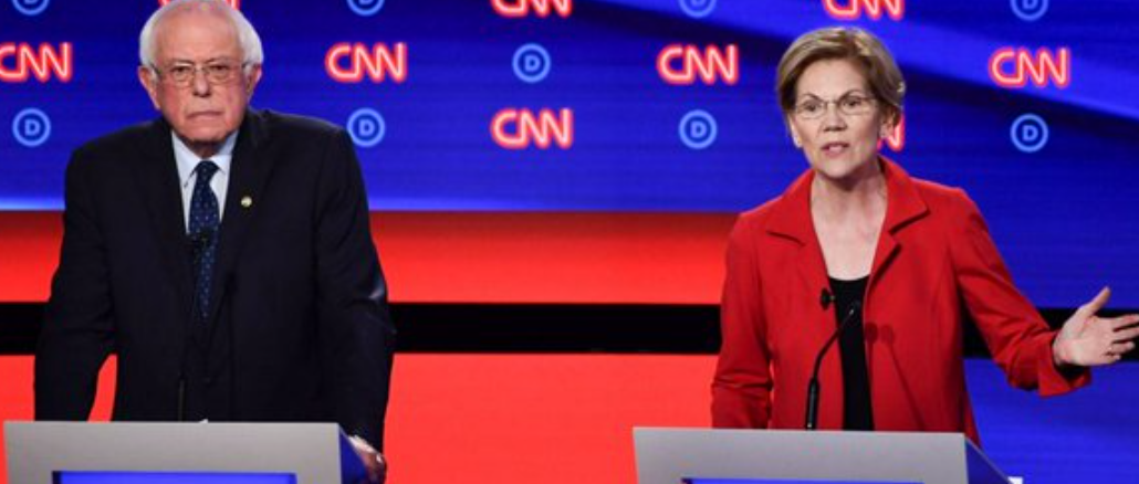Where the Democratic candidates stand in the polls