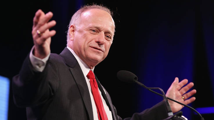 Rep. Steve King steps in it again-If not for rape and incest, 'would there be any population left?'