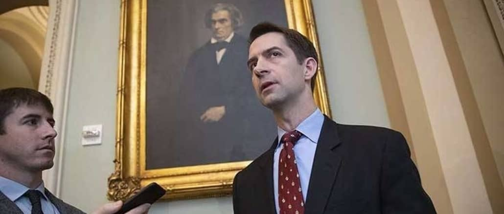 Tom Cotton: The U.S. should buy Greenland