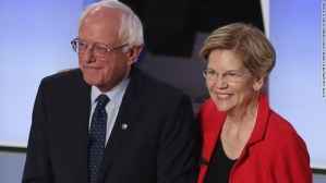 Elizabeth Warren endorsed by the Working Families Party