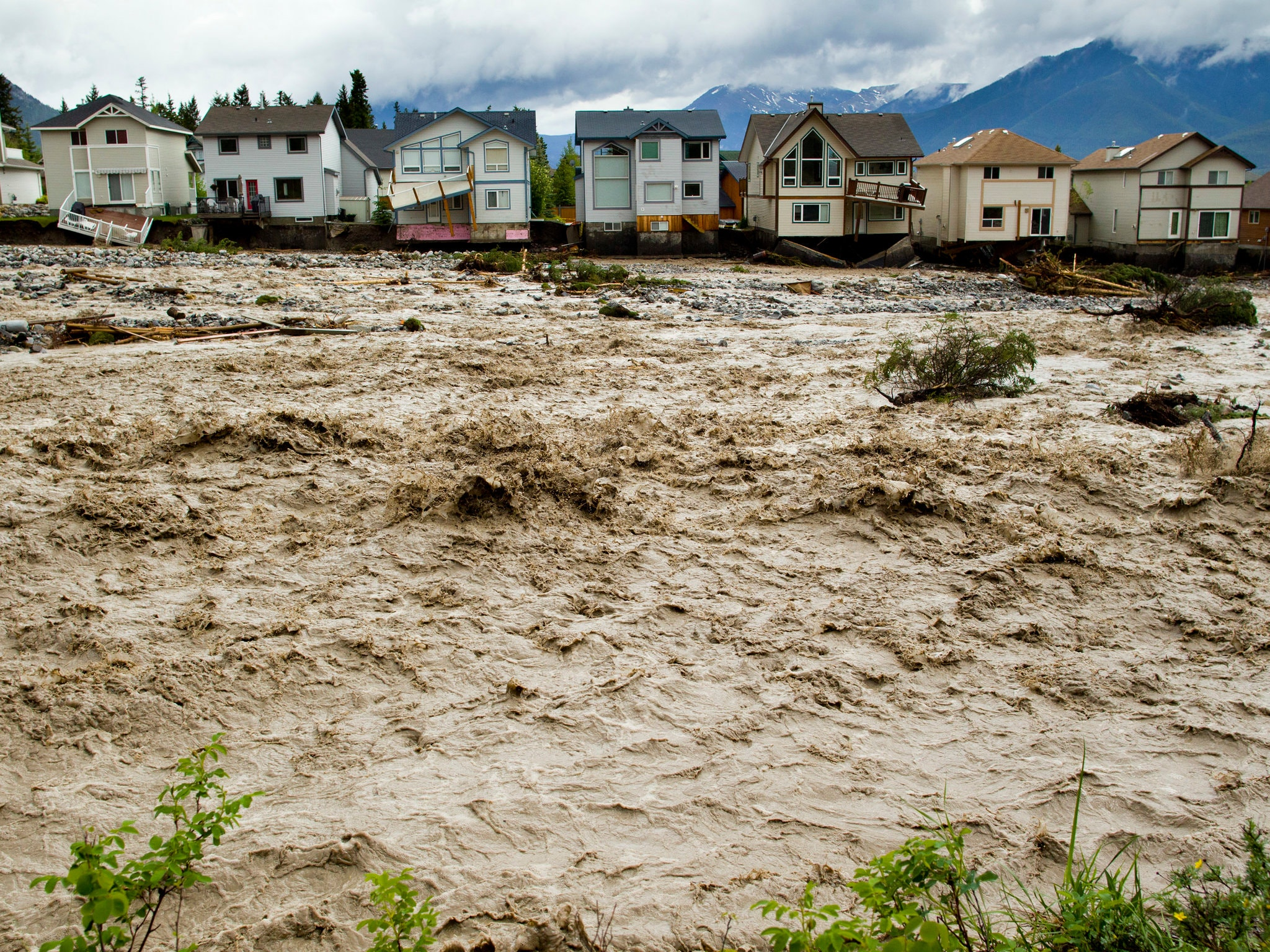 Canada Tells Flood Victims: Live Someplace Else