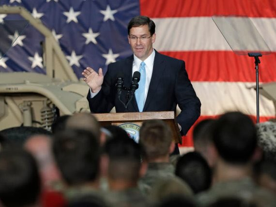 U.S. to deploy troops to Mid-East