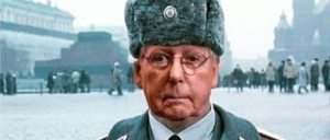 Moscow Mitch very upset he's called, Moscow Mitch