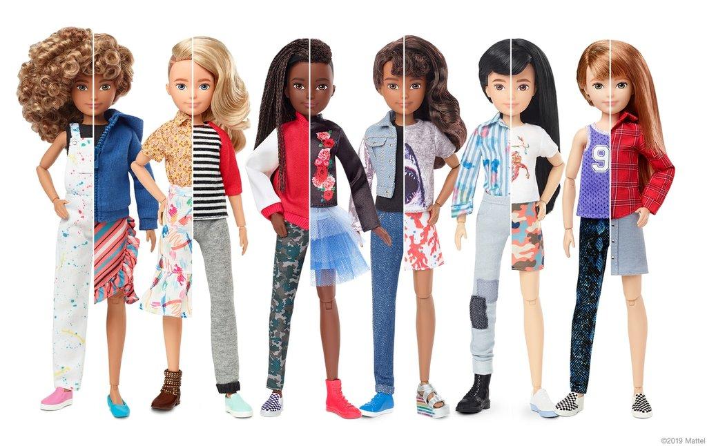 Mattel, Maker of Barbie, Debuts Gender-Neutral Dolls