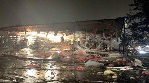 South Dakota hospital is evacuated after a tornado hits Sioux Falls